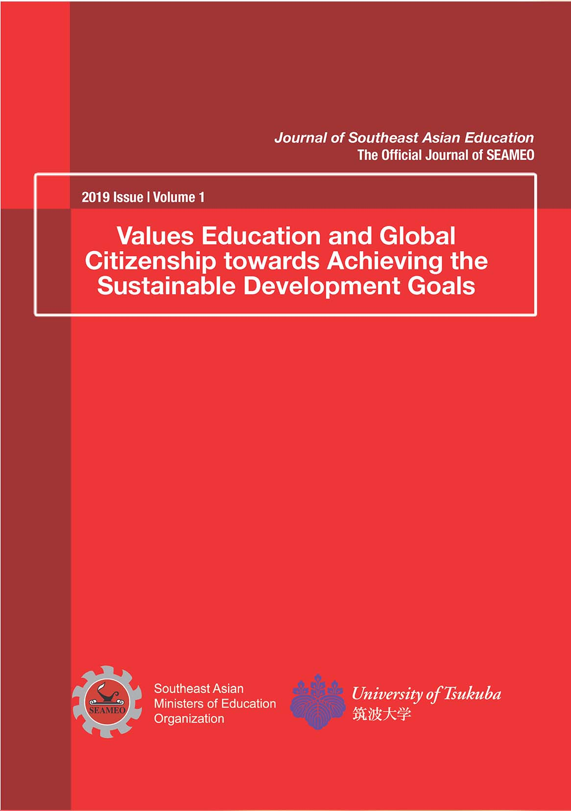 Journal of Southeast Asian Education 2019 Issue Volume 1